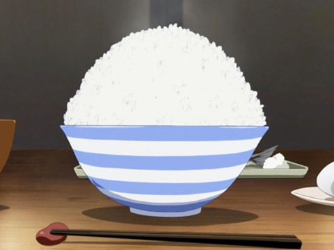K-on Mio rice bowl