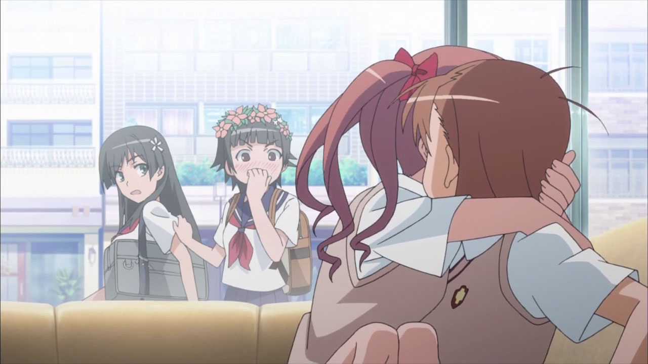 Toaru Kagaku no Railgun first encounter