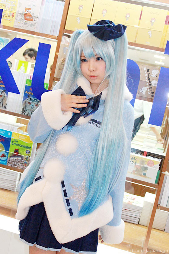 Enako Miku cosplay in Bangkok