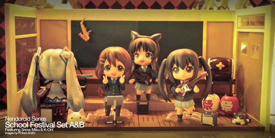 K On Nendoroid figurines
