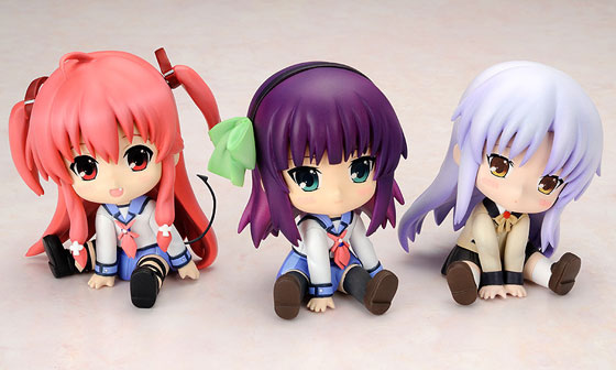 Angel Beats Petanko figures