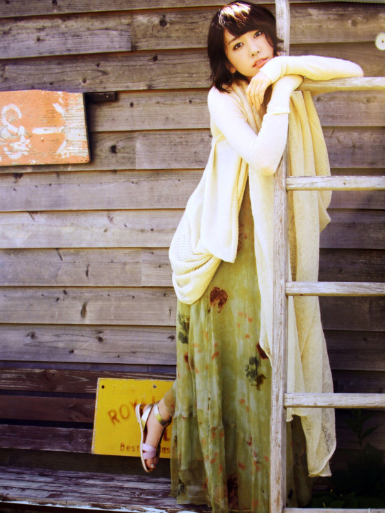 Yui Aragaki NTT-East 2013 calendar