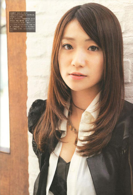 AKB48 Yuko Oshima Screen Magazine