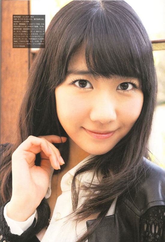 AKB48 Yuki Kashiwagi Screen Magazine