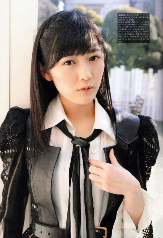 AKB48 Mayu Watanabe Screen Magazine