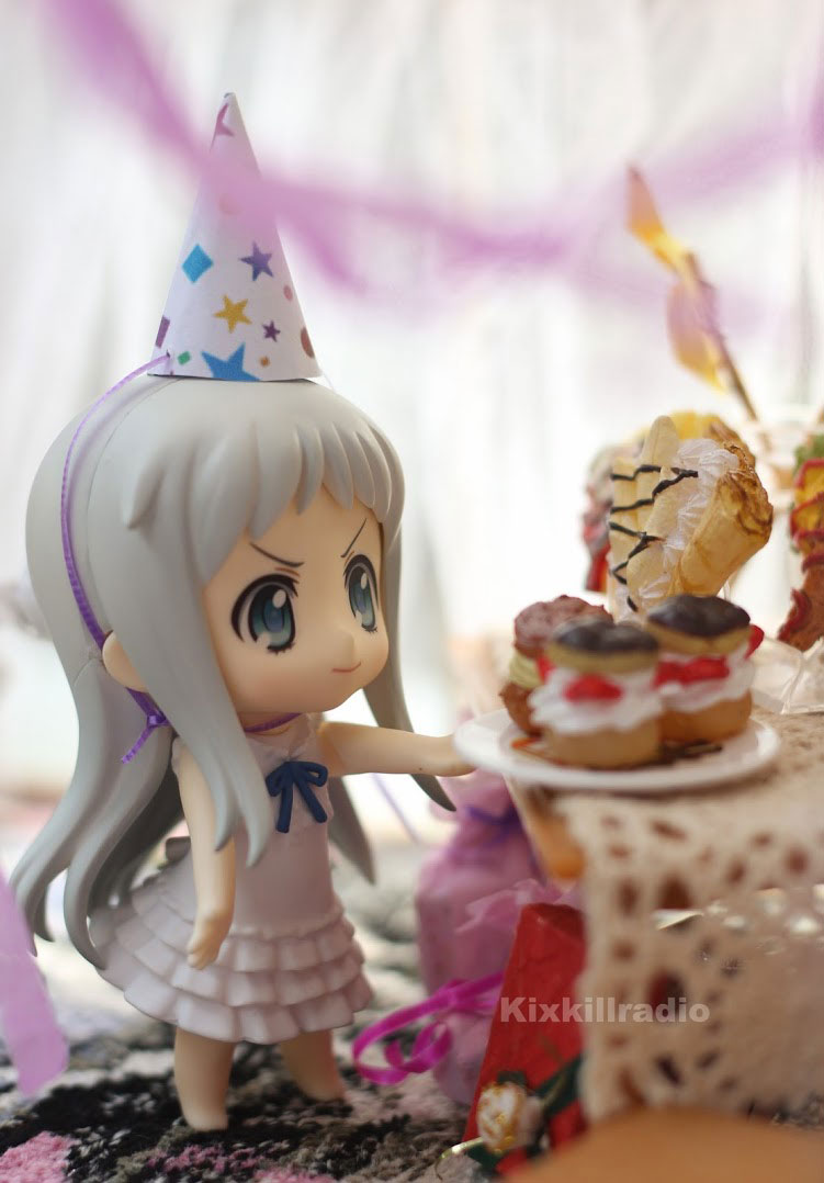 Nendoroid Menma birthday party