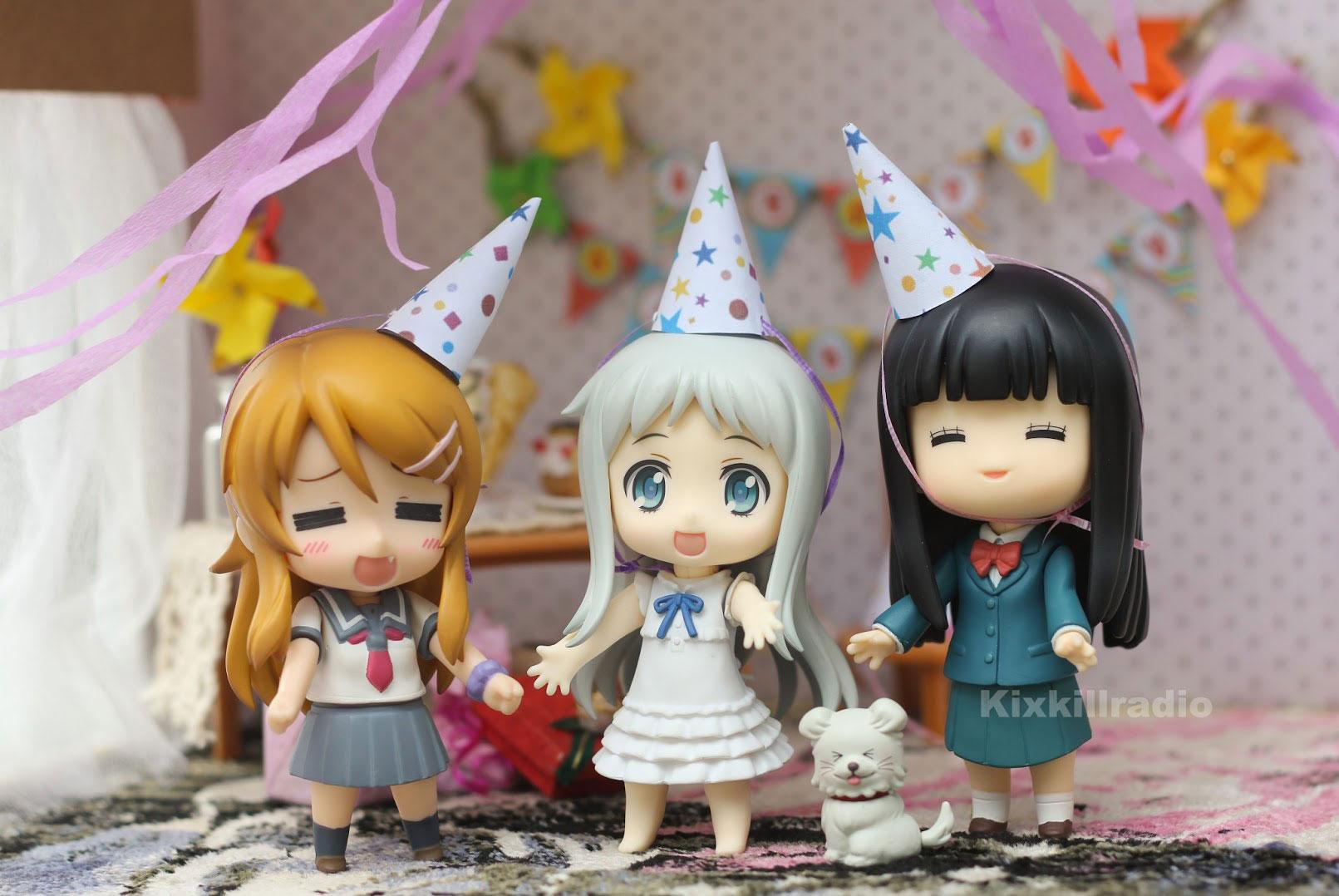 Nendoroid Mirai Suenega birthday party