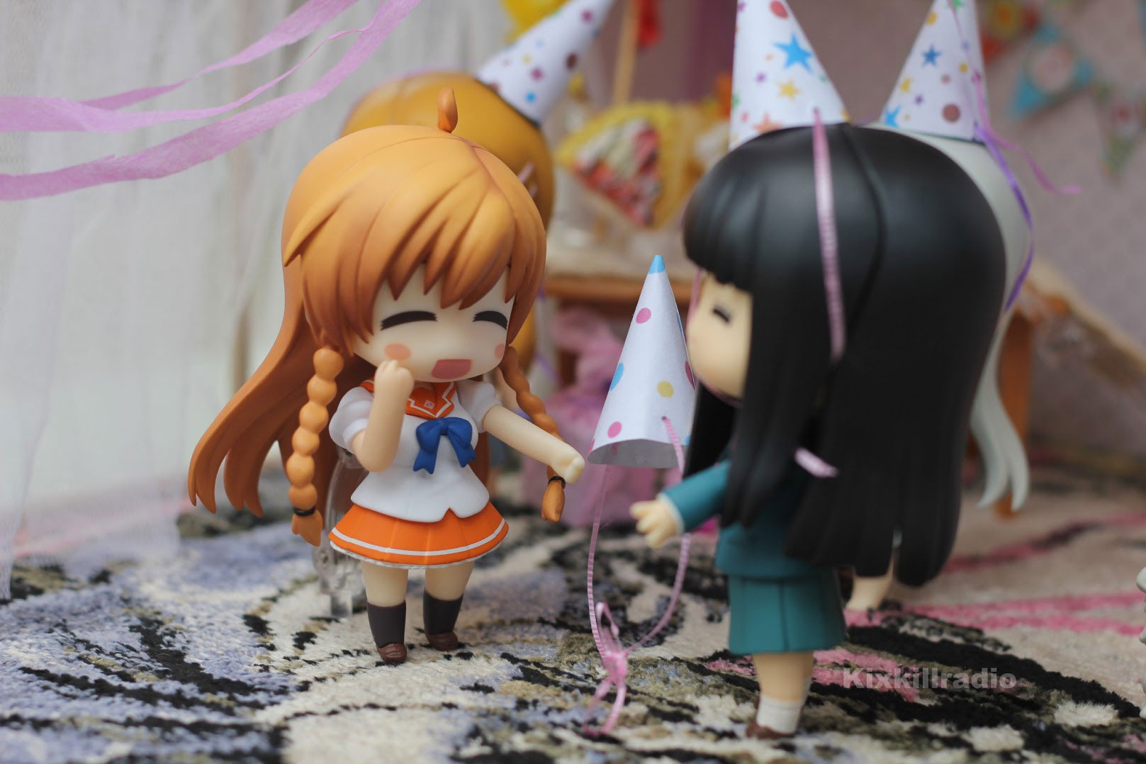 Nendoroid Mirai Suenega birthday party