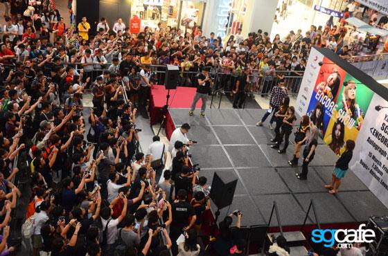 Jpop girl band Scandal Singapore