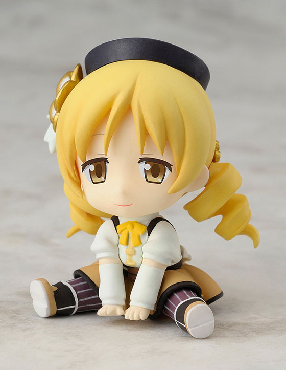 Tomoe Mami Petanko Mini figure