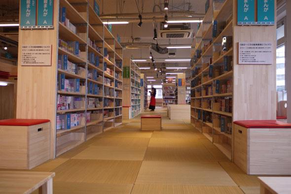 Tokyo Tachikawa City Manga Park