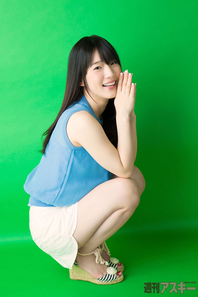 Voice actress Maaya Uchida ASCII Magazine