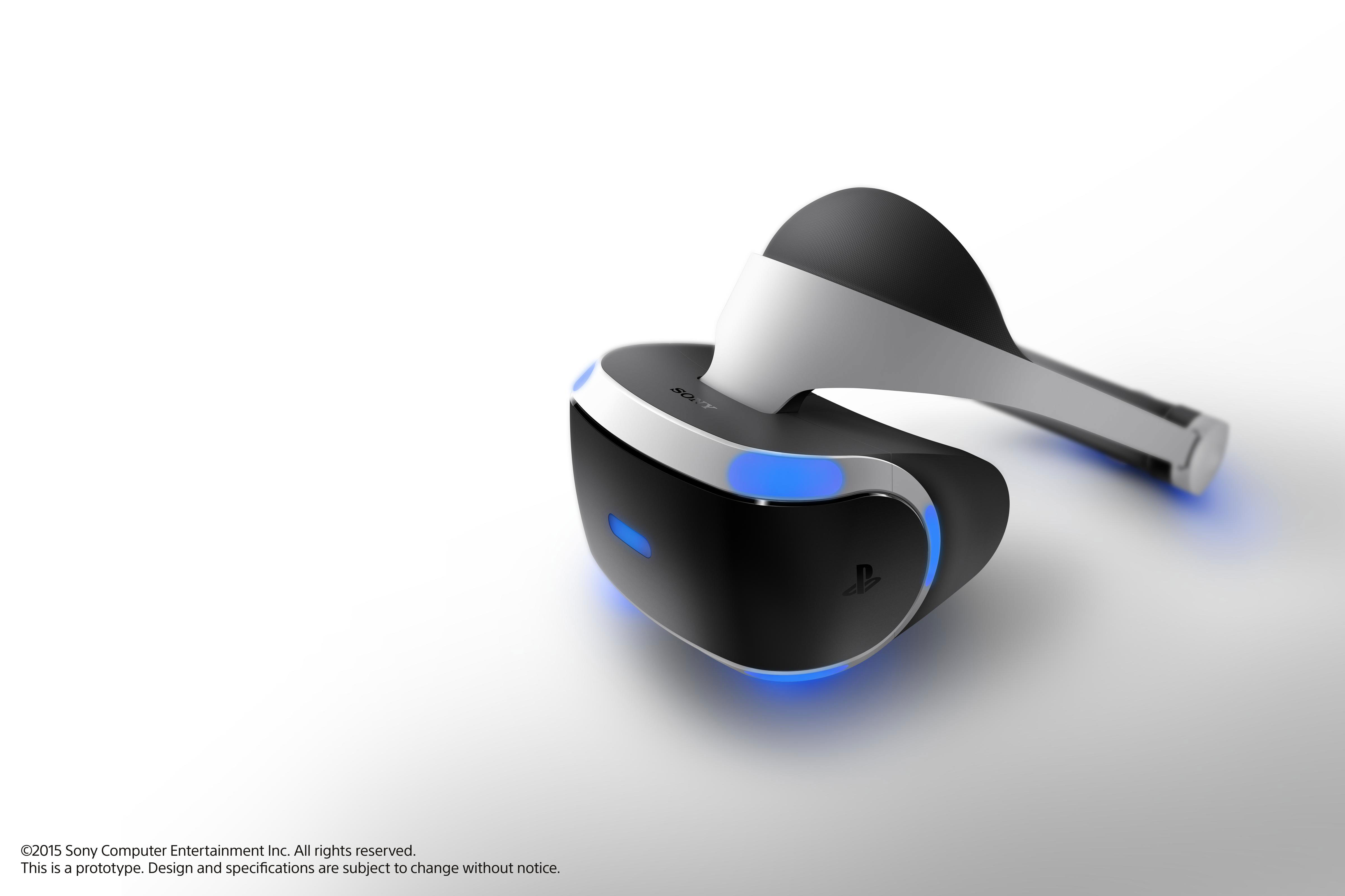 Sony Project Morpheus prototype